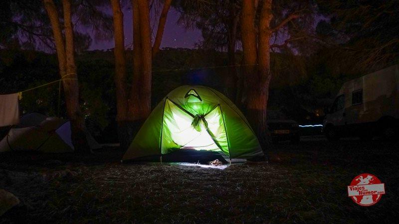 caños de meca camping